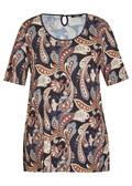 Romantisches T-Shirt mit orientalischem Muster /