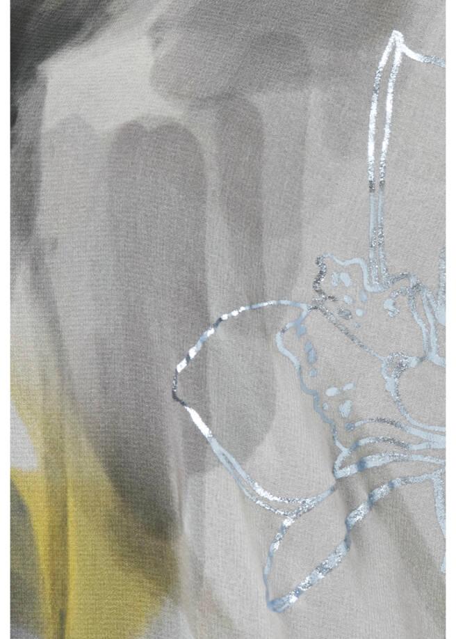 Feminine Schlupfbluse mit Glitzerdetails /