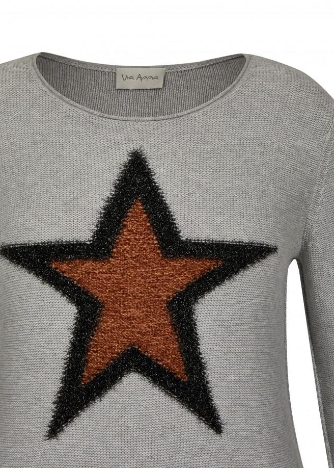 Kuscheliger Pullover mit Sternen-Motiv /